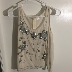 Beautiful vintage looking Freeway tank top